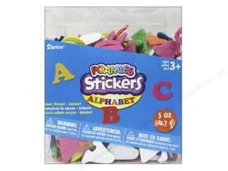 Darice Foamies Alphabet Stickers Bucket 5 oz.