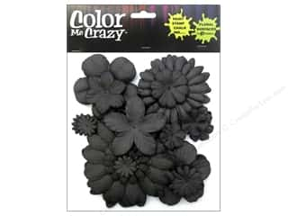 Clearance Petaloo Color Me Crazy: Petaloo Color Me Crazy Chalkboard Assorted Flower Layers