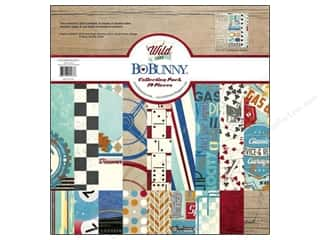 Best of 2012 Bo Bunny Paper & Sticker Collection Pack: Bo Bunny 12 x 12 in. Collection Pack Wild Card