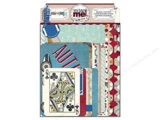 Bo Bunny Misc Me Journalling: Bo Bunny Misc Me Journal Contents Wild Card