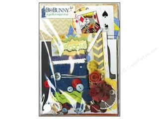 Best of 2012 Bo Bunny Paper & Sticker Collection Pack: Bo Bunny Ephemera Wild Card