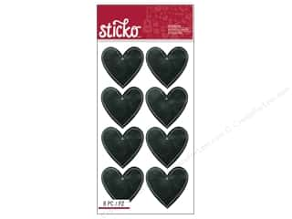 Valentines Day Gifts Baking: EK Sticko Stickers Valentine Classic Chalk Hearts
