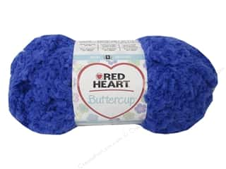 Clearance Red Heart Pomp A Doodle Yarn: Red Heart Buttercup Yarn #4801 Blue Moon 63 yd.