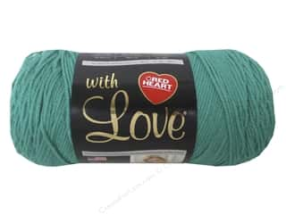 Red Heart With Love Yarn 370 yd. #1562 Jadeite