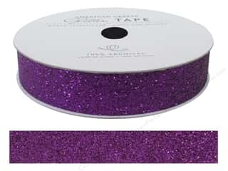 stickers: American Crafts Glitter Tape 5/8 in. Grape