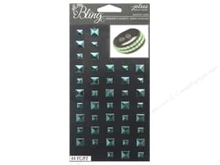 EK Jolee's Boutique Bling Gems Stud Mint Blue