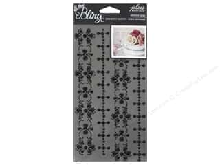 EK Jolee's Boutique Bling Gems Wedding Border Black