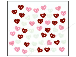 scrapbooking & paper crafts: Jesse James Dress It Up Embellishments Valentine Micro Hearts