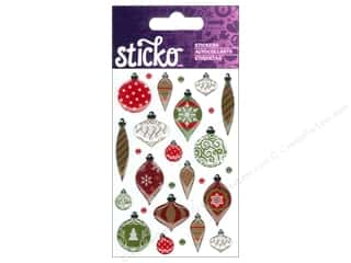 EK Sticko Stickers Epoxy Mini Christmas Ornaments