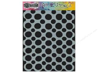 Clearance Sunworks Construction Paper 9 x 12: Ranger Dylusions 9 x 12 in. Stencil Circles