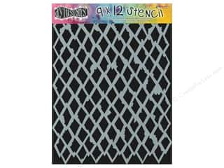 Clearance Sunworks Construction Paper 9 x 12: Ranger Dylusions 9 x 12 in. Stencil Diamond