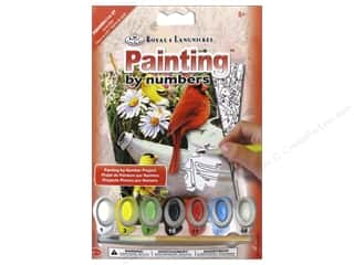 Royal Paint By Number Kit Mini Garden Birds