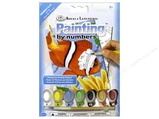 art, school & office: Royal Paint By Number Kit Mini Clown Fish