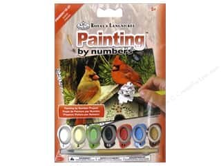 Projects & Kits: Royal Paint By Number Kit Mini Cardinals