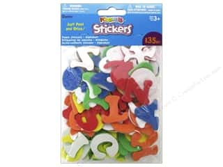 Darice Foamies Alphabet Stickers 135 pc. Assorted