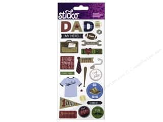 EK Sticko Stickers Icons & Words Large Dad