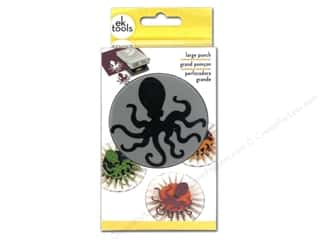 EK Paper Shapers Large Punch Octopus 2 1/2 in.