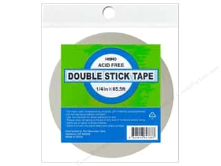 glues, adhesives & tapes: Heiko Double Stick Tape 1/4 in. x 65 1/2 ft.