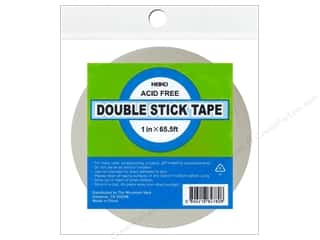 glues, adhesives & tapes: Heiko Double Stick Tape 1 in. x 65.5'