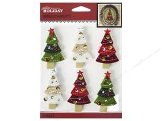 stickers: Jolee's Boutique Stickers Holiday Christmas Trees Repeat