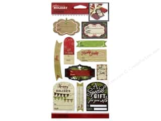 theme stickers  holidays: Jolee's Boutique Stickers Holiday To From Label