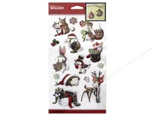 theme stickers  holidays: Jolee's Boutique Stickers Holiday Animals
