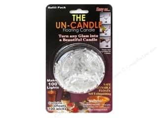 craft & hobbies: Pepperell Candle Wick Floating Candle The Un-Candle