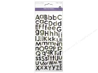 stickers: Multicraft Sticker Alphabet Glitter Reptile