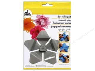 burlap: EK Tool Star Bow Template Kit Large