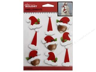 theme stickers  holidays: Jolee's Boutique Stickers Holiday Santa Repeat