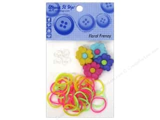 Weekly Specials Beadalon Elasticity: Jesse James Kit Rubber Bands Floral Frenzy