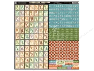 Weekly Specials Graphic 45 Paper Pad: Graphic 45 A Time To Flourish Collection Alphabet Stickers