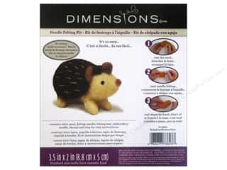 projects & kits: Dimensions Needle Felting Kit Hedgehog