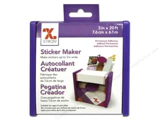 scrapbooking & paper crafts: Xyron 3 in. Disposable Sticker Maker