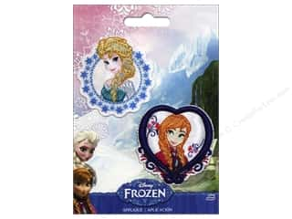 Simplicity Appliques Disney Frozen Iron On Elsa & Anna