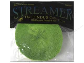 craft & hobbies: Crepe Paper Streamers by Cindus 1 3/4 in. x 81 ft. Light Green