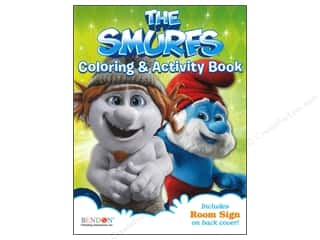 Bendon Coloring & Activity Book Smurfs