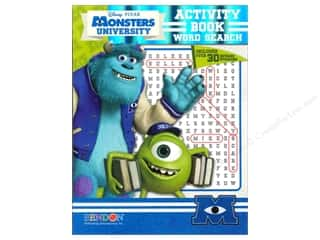 Bendon Activity Book Word Search Disney Monsters University
