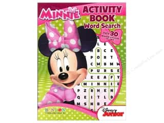Bendon Activity Book Word Search Disney Minnie