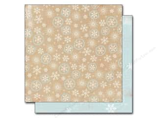 Winter Wonderland Printed Cardstock: Authentique 12 x 12 in. Paper Cozy Flurries (25 sheets)