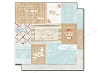 Winter Wonderland Printed Cardstock: Authentique 12 x 12 in. Paper Cozy Enhancements (25 sheets)