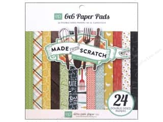 Echo Park Paper Company: Echo Park Paper Pad 6 x 6 in. Made From Scratch