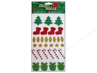 Clearance: Sierra Pacific Crafts Decor Stickers Foam Christmas