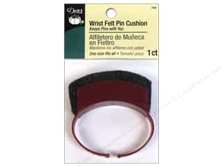 Sewing pins: Dritz Pin Cushion Wrist Felt