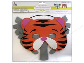 Multicraft Party Foam-Fun Animal Mask Assorted Wild Things