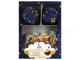 Multicraft Party Deluxe Cupcake Box Bleep-Blorp