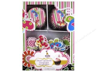 Multicraft Party Deluxe Cupcake Box Blooming Garden