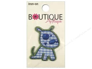 Blumenthal Boutique Applique Blue Dog