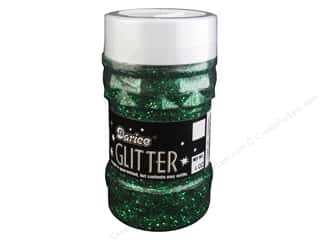 stamps: Darice Glitter Jar 4 oz. Green