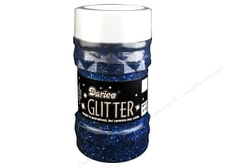 Glitter: Darice Glitter Jar 4 oz. Royal Blue